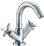 Mayfair Series C Mono Basin Mixer Tap With pop Up Waste - SCX009